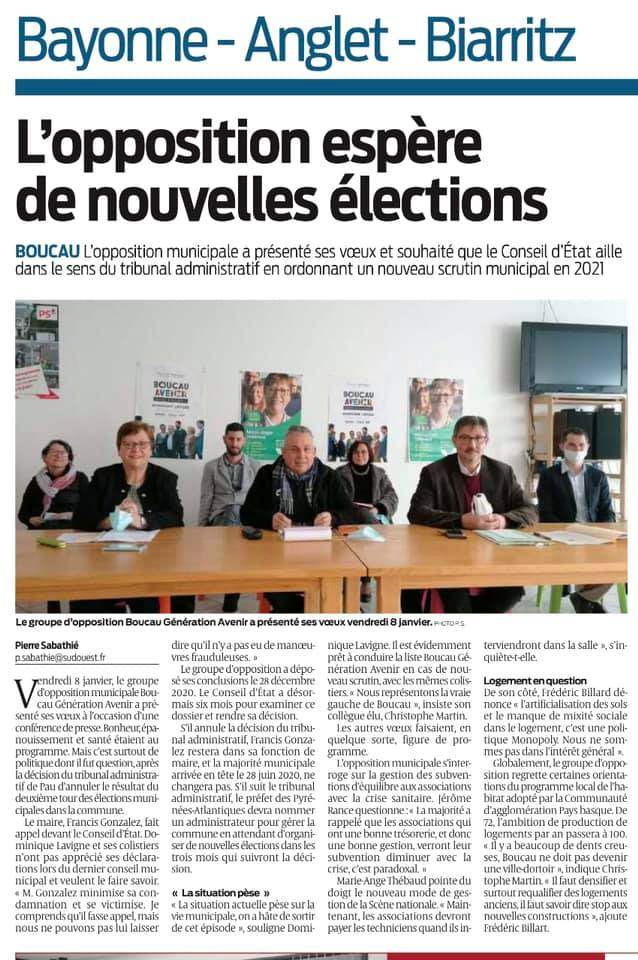 Sud Ouest - 01/2021